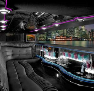 Chrysler 300 Limo Interior San Jose